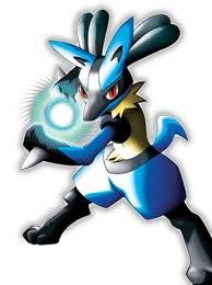 I'm a Dragon, what about you? Lucario