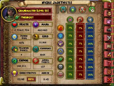 A Wizard101 story