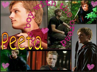 Peeta And Katniss Love Story