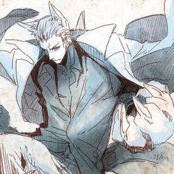 Hetalia Werewolf Reader