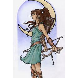 Artemis's demiwitch daughter