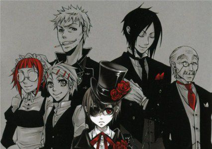 Black Butler (Page 3) | Anime Quotes!