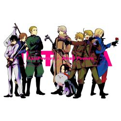 Hetalia x Independent!Country!Reader - Our Family Life (All Series)