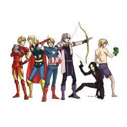 Hetalia X Country! Reader X Avengers - Sequel