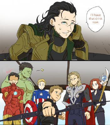 He finds you singing   Avengers Preferences