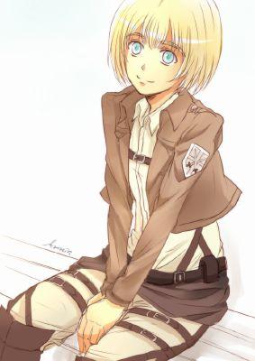 Tease || Neko!Armin x Reader || | E u p h o r i a || reader