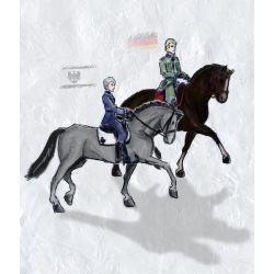 Spirit -Germany X Horse!Reader-