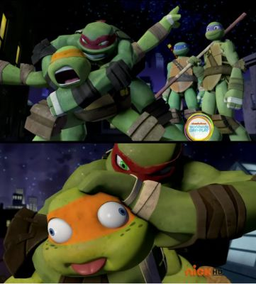 Poor Mikey Donnie S Gift Meet Rya Tmnt 2012