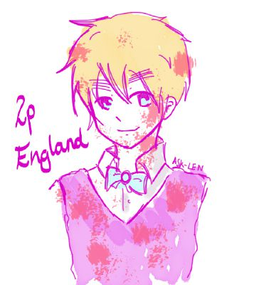 You don`t love him! ~ 2P England/Oliver Kirkland | Yandere Hetalia