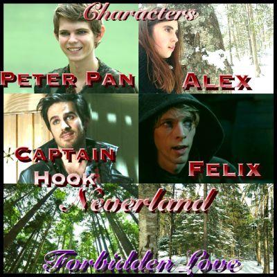 Forbidden Love~a Peter Pan and Captain Hooks daughter fanfiction
