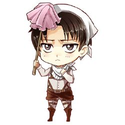 The reason of Levi's obsession with cleaning [Levi x Reader]