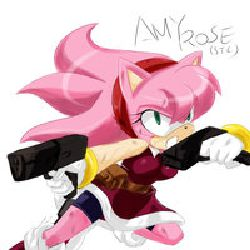 What Are You Doing Here Amy Rose A G U N Agent