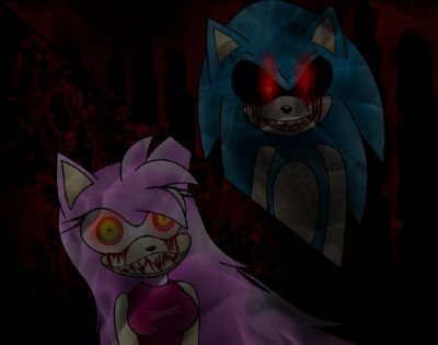 Sonic exe Vs Amy Ghost Rose | Mah Pictures