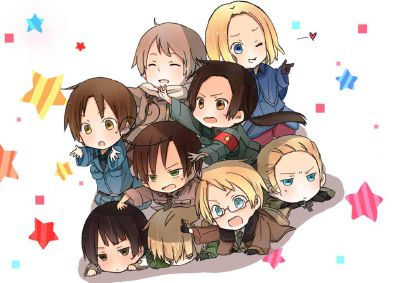 Chibified | This Beautiful Country  (Hetalia x Reader, NOT A