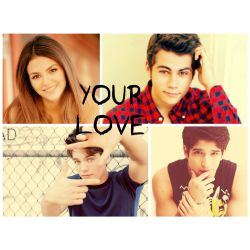 Your Love (teen wolf/the vampire diaries Fanfiction)