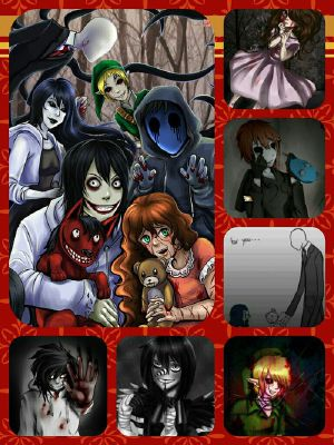 You see him without his mask/in human form | Creepypasta