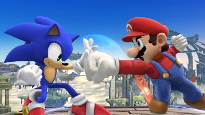 Jealous? [Mario x Reader x Sonic For мεωмεω234] | Super smash bros