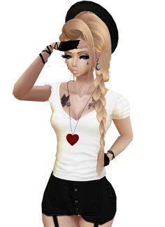 IMVU Girl (Love Story)