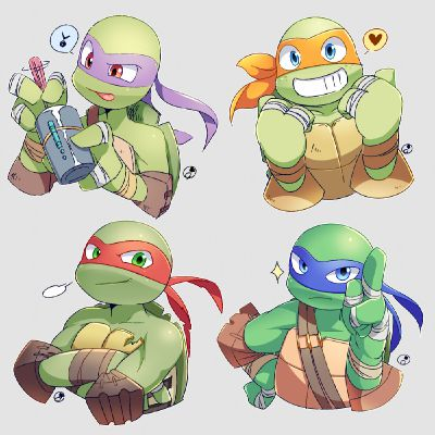 TMNT] Raphael Hamato x Female!reader [Ramblings] | All one