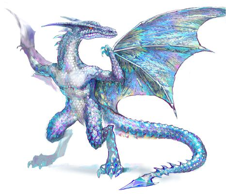 Crianite Moon the Crystal Dragon (ADOPTED) | The Magical Creature