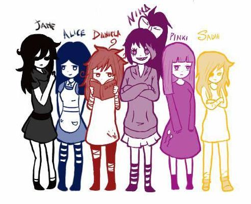 Which creepypasta girl likes you - Quiz
