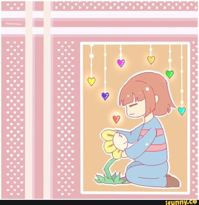 Let Me Stay With You  (Flowey x Reader: Undertale)