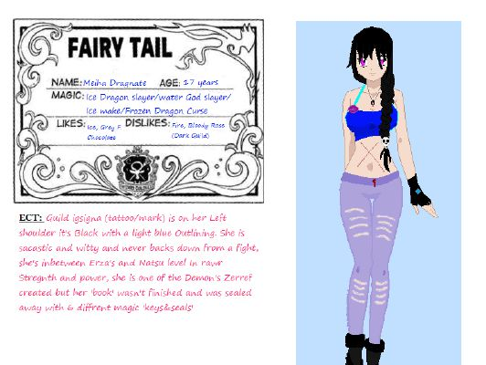 Maiha Dragnate's Introduction | Fairy Tail: Team Demon