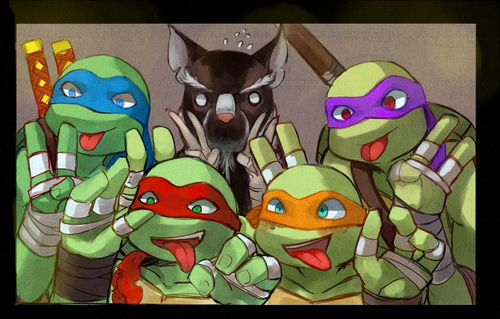 You Get Drunk And Try To Seduce Him XD | TMNT Boyfriend