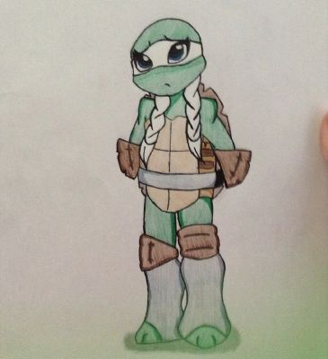 Their Little Sister (TMNT Fanfiction)