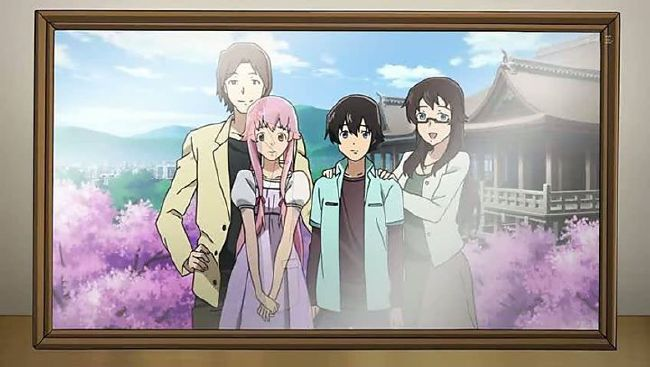 07 Home Is Where The Heart Is Innocence Yuno Gasai Love Story