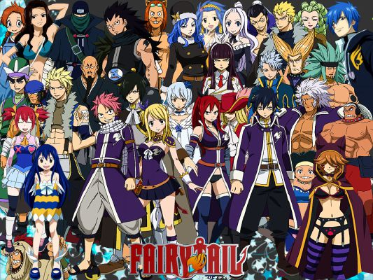 Ask Fairy Tail Characters Anything