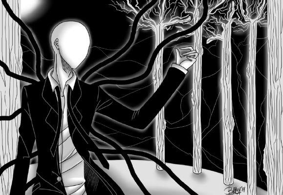 Slenderman x Reader~ Never Too Tall | Creepypasta x Reader