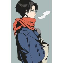 Snow Day - Levi Ackerman x Cheeky!Reader One-shot
