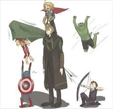 They hear you cussing at someone ~ Parent/Child | Avengers