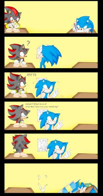 You prank him | Sonic boyfriend scenarios