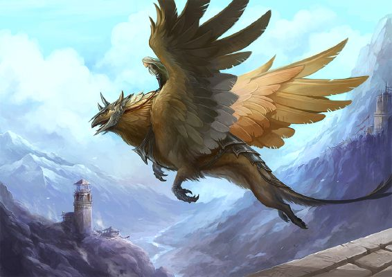 Griffin What Would Be Your Mythical Companion Quiz