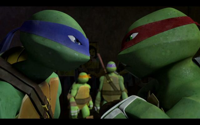 Tmnt 2012 mikey