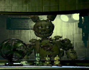 Take The Pain Away (SpringTrap X Dying! Night Guard! Reader) | Into