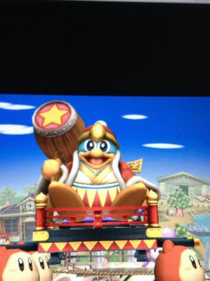 The Painting (King Dedede X Reader) | Ssb christmas oneshots