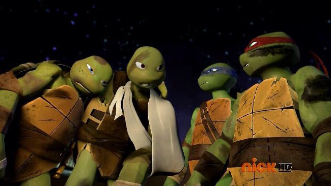 Chapter 14 Slash And Destroy Meeting Tmnt