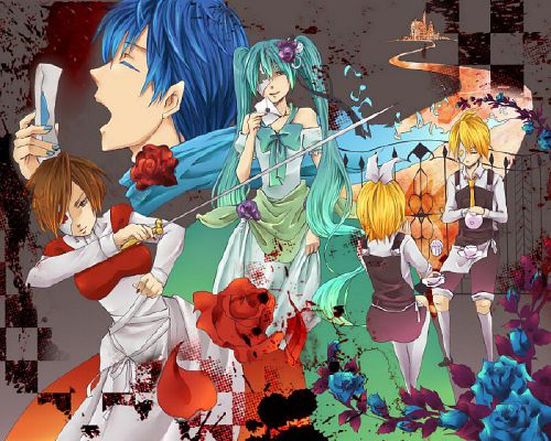Alice Human Sacrifice x reader | Vocaloid x reader