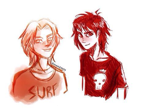 Nico di Angelo and Will Solace x Reader (Request from