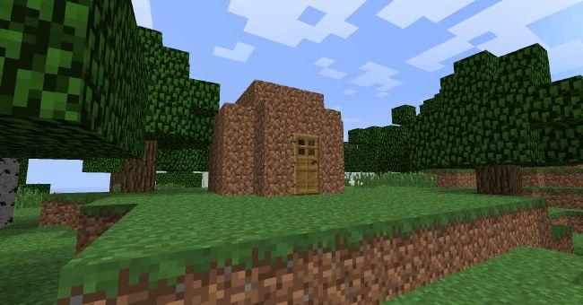Dirt House Heroes Of Olympus Meet Minecraft