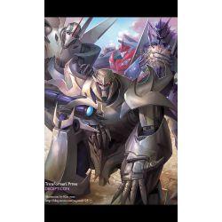Please   don't go (Megatron x sister reader) {Tfa} | Random