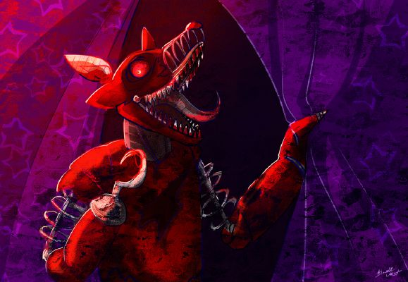 Pretty Little Psycho(NightMare Foxy X READER)