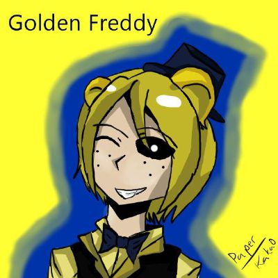 Human! Golden Freddy x Female! Reader | Five Nights at