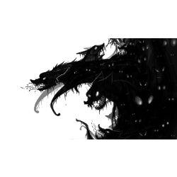 Creepypasta Wolf Hybrid