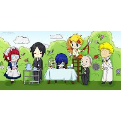 Think black you characters do of butler the what What Black