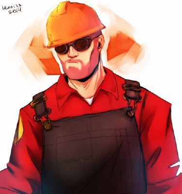 RED Engineer X Reader: Shirtless   Team Fortress 2 One-Shots