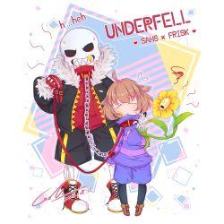 His Pet (Underfell! Sans x Neko! Female Reader)